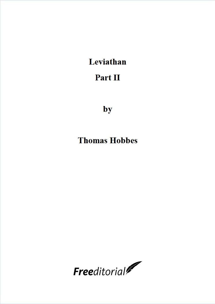 Leviathan Part II