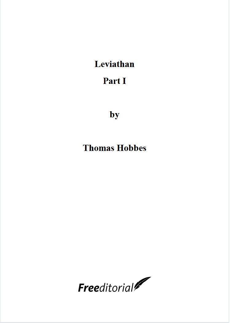 Leviathan Part I