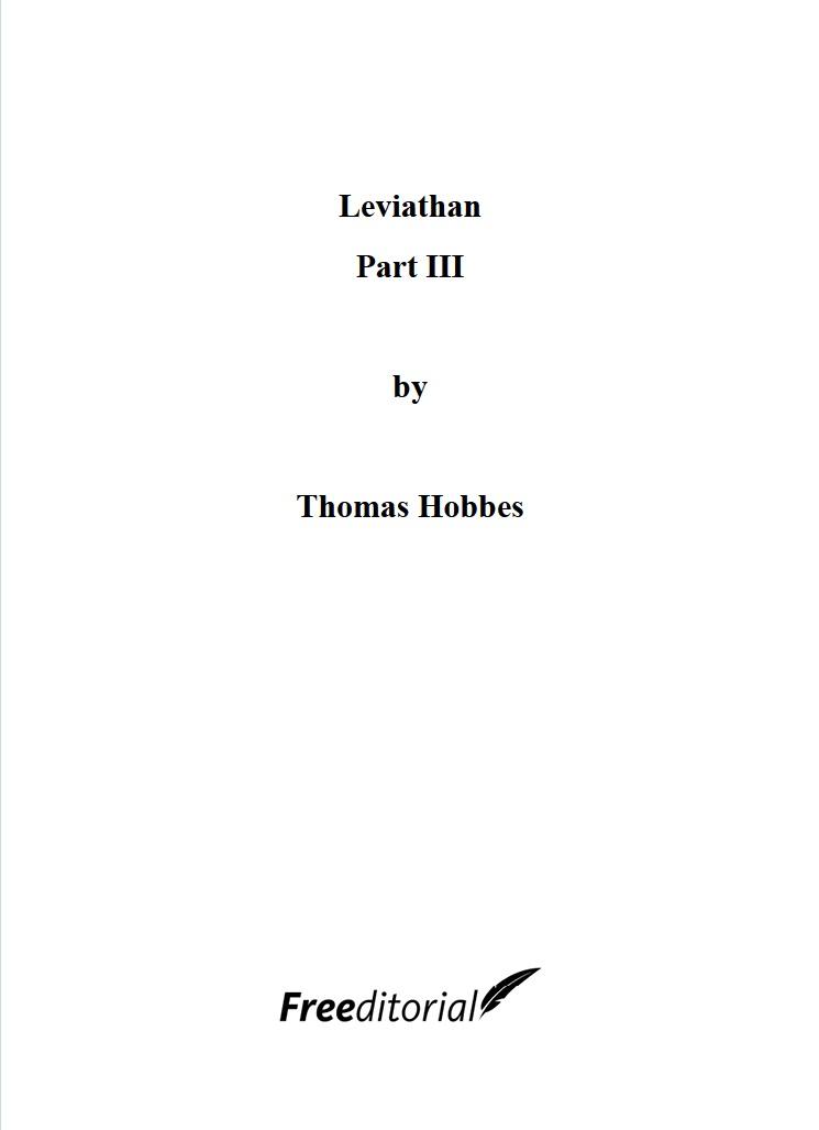 Leviathan Part III